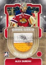 2012-13 Between The Pipes Jersey Gold #19 Alex Dubeau