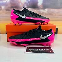 Nike Phantom GT Pro FG Black Pink Soccer Cleats CK8451-006 Men's Multi Size