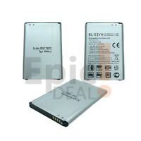 New LG G3 Rechargeable Li-ion Phone Battery 3.8V Typ 3000mAh 11.4Wh BL-53YH