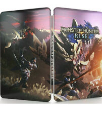 Monster Hunter: Rise Exclusive Switch SteelBook Case - NO GAME - NEW-sealed