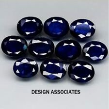 ROYAL BLUE  SAPPHIRE 10x8 MM  OVAL CUT  ALL NATURAL GEMSTONE SOLD PER STONE