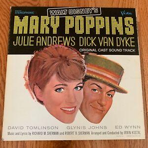 Walt Disney's MARY POPPINS Original Soundtrack 1964 Vinyl Lp - STER 4026