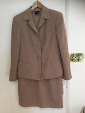 Women's Designer Suit, EPISODE jacket and shift dress, Camel Colour