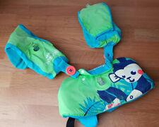Schwimmhilfe Schwimmflügel Schwimmgurt Schwimmring TISWIM NABAIJI grün blau