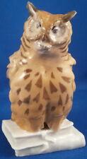 Nice Art Nouveau Meissen Porcelain Owl Figurine Porzellan Eule Jugendstil Figure