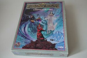 Forgotten Realms Boxed Sets Multilisting 2nd AD&D
