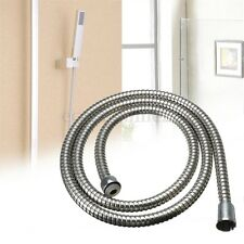New 1.5m Stainless Steel Flexible  Shower Hose Bathroom Heater Water Head Pipe