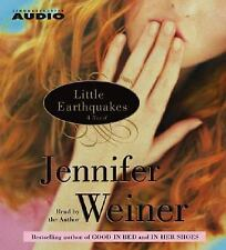 Little Earthquakes by Jennifer Weiner (2004, CD, Abridged) NEW Audiobook SEALED