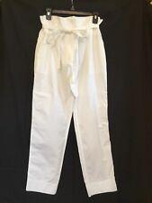 Theory Gunilla White Light Poplin Pants Size 10
