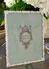 "Olivia Riegel Princess Crystal 8"" x 10"" Photo Frame  NEW! In Box!"