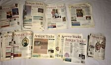 Antique Trader Magazine Lot of 48 04-13 Vintage Collectibles Clothing Porcelain