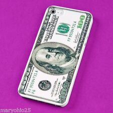 S Dollar Bill Protector Back Skin Hard Cover Case for Apple iPhone 5 5S 5G