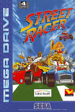 # SEGA MEGA DRIVE-Street Racer-Top/MD gioco #