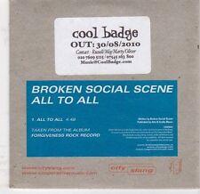 (EJ990) Broken Social Scene, All To All - 2010 DJ CD