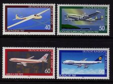 W germany 1980 aviation history sg 1918/21 neuf sans charnière