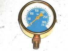 Manomètre de pression 315 bars-diamètre 62.5mm-WHITWORTH 28G (3/8)