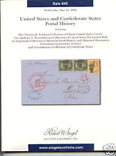 Siegel, US and Confederate Postal History Sale 845,