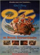 OZ Le magicien Affiche Cinéma / Movie Poster Walter Murch Fairuza Balk