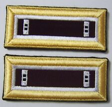 ARMY OFFICER SHOULDER BOARDS CHIEF WARRANT OFFICER CWO-2 JAG CORPS FEMALE NIP