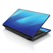 "13.3"" 15.6"" 16"" Laptop Skin Sticker Notebook Decal Blue Waves M-05"