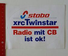 Aufkleber/Sticker: stabo xrc Twinstar - Radio mit CB ist ok (14021714)