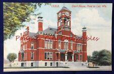 Antique Postcard Court House Fond Du Lac Wisconsin PC