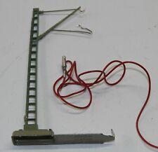 Märklin H0 7012 - Anschlussmast mit Steck-Fuss und Kabel in OVP