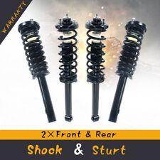 4Pcs For 2003-2007 Honda Accord Complete Struts /Shocks & Spring Coils w/ Mounts