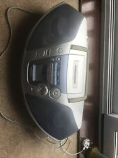 Panasonic RX-ES27 Boombox Power Blaster Portable CD Tape Player