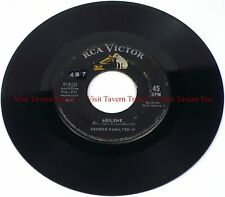 "1963 POP George Hamilton IV - Abilene / Oh So Many Years 7"" 45"