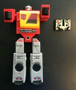 1984 Hasbro Takara Transformers G1 Blaster Radio Boombox Autobot and Tape