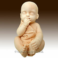 3D Silicone Soap Mold- Lifelike/Newborn Baby sucking fingers(2 parts mold)