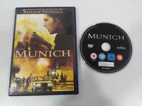 MUNICH DVD + EXTRAS ERIC BANA STEVEN SPIELBERG CASTELLANO ENGLISH