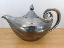 Hall? Aladdin Teapot Silver Silvalyte? Mirrored Vintage