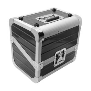 Zomo OB-80 XT Black Record Case Lp-Case Dj Vinyl Case 50/50 Division