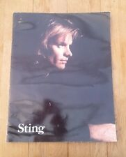 STING (POLICE) 'Nothing Like The Sun' Tour Programme Book 1987-88