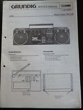 Original Service Manual  Grundig Party Center 700