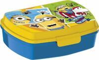 Minions LUNCH BOX scatola colazione porta PRANZO MERENDA sandwich scuola