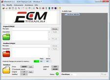 ECM TITANIUM 1.61 , WINOLS 2.24,software map ori mod 2019 entra e leggi!!