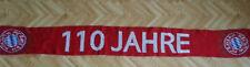 Jubiläumsschal 110 Jahre,Südkurve München, Ultras,Schickeria,Club Nr.12,FCB,1972