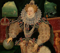 "high quality oil painting handpainted on canvas ""Portrait of Elizabeth I """