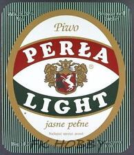 Poland Brewery Lublin Perła Beer Label Bieretikett Etiqueta Cerveza lu56.3