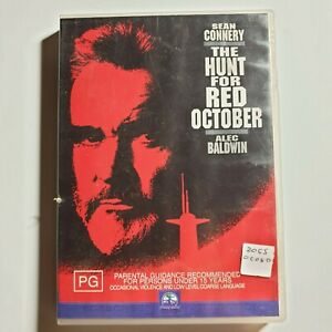 The Hunt For Red October   DVD Movie   Sean Connery, Alec Baldwin   1990   PAL