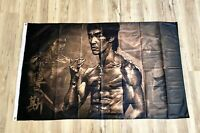 Bruce Lee Dragon 3ftx5ft flag banner limited edition martial arts free shipping