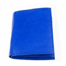 Geldbörse Herren Damen Portemonnaie Echt Leder Hochformat Blau von Tillberg 7926