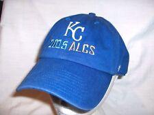 #2398C - KANSAS CITY ROYALS BASEBALL HAT, CAP - 2015 ALCS CHAMPIONS