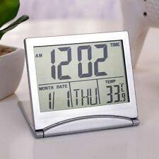 GIFTS FOR MEN New Digital LCD Thermometer Calendar Alarm DESK Clock For Office