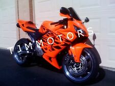 For CBR600RR 2005 2006 ABS Injection Mold Bodywork Fairing Orange Black Tribal