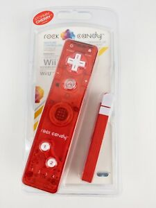 Rock Candy Stormin' Cherry Remote Controller For Nintendo Wii & Wii U. Sealed!