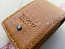 Toyota Land Cruiser 200 Brown Leather Smart Key Case Cover Genuine OEM Parts